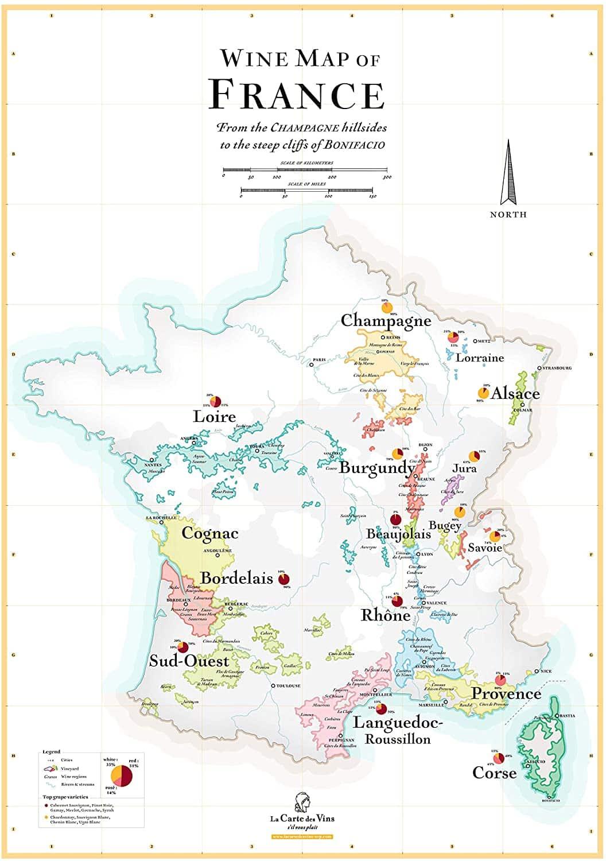 map france wine - La Cave de Léon